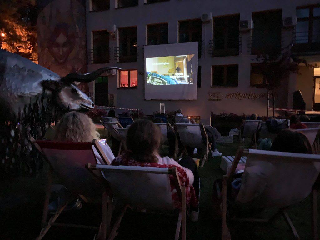 Kino Letnie przed PCKiSz