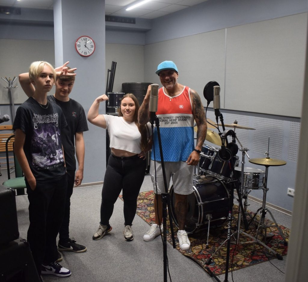 Warsztaty hip hop z FUSO