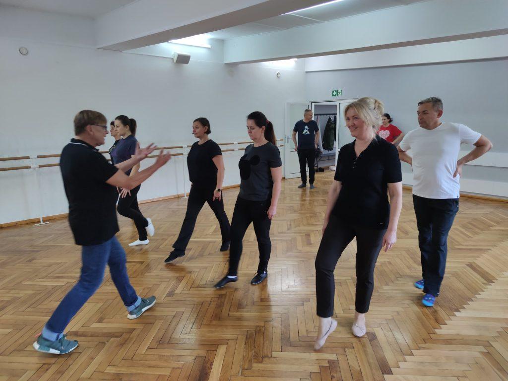 Warsztaty taneczne z Waldemarem Wołk – Karaczewskim