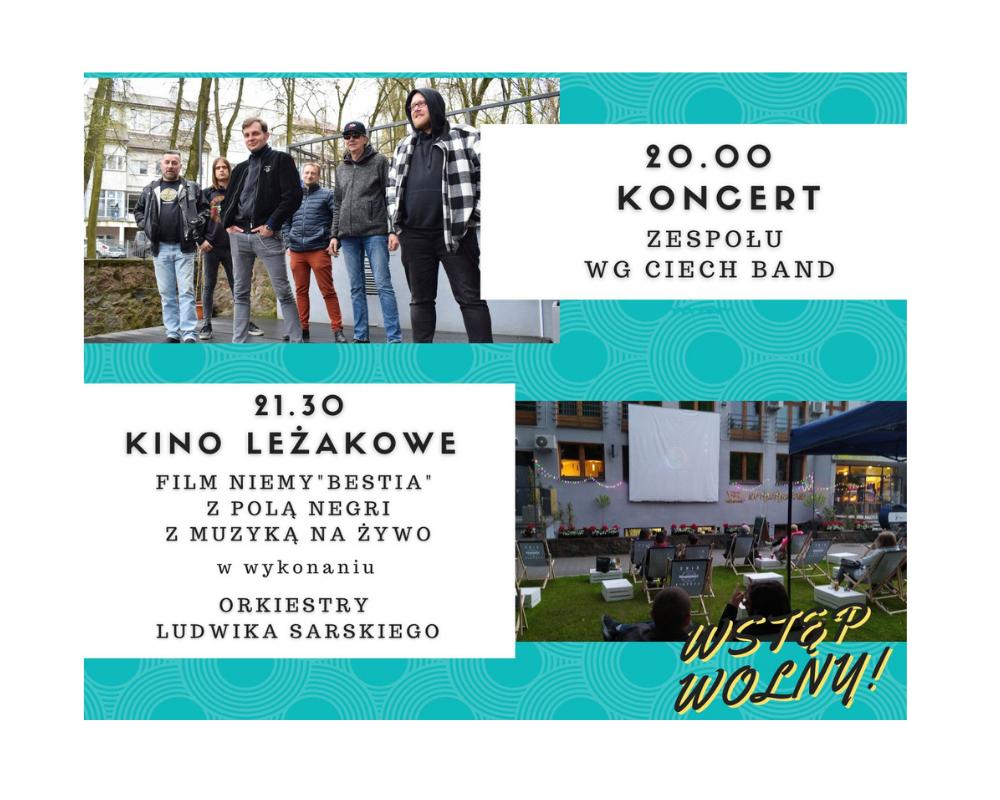 """Kino Leżakowe. Film """"Bestia"""" z muzyką na żywo"""
