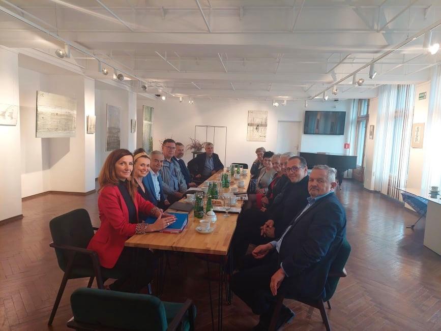 Posiedzenie Komisji Kultury, Edukacji, Sportu Rady Powiatu Ciechanowskiego
