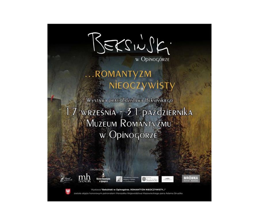 Beksiński w Opinogórze – romantyzm nieoczywisty